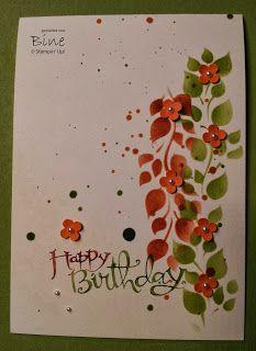 Bines Karten und mehr ...: CaS Herbstkarte