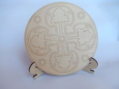 Laser Cut Wooden Mandala Plate for Adult Mandala Coloring.Decorative Mandala Plate.Mandala Art Therapy.Mandala Cutout.Easy Craft.m010-s