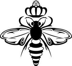 Queen Bee Logo queen b logo mo...