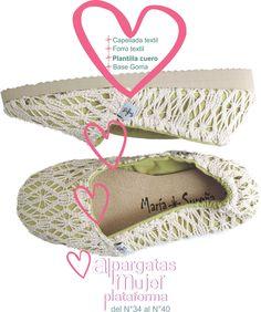 Modelo Romantico Crochet natural