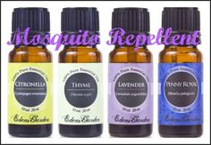 Are you ready for summer? Make your own non-toxic Mosquito Repellent! Add several drops each of Citronella, Thyme, Lavender, and Penny Royal into an Edens Garden Carrier Oil and shake to blend. Dab a few drops on your skin or clothing and enjoy the outdoors! Edens Garden Essential Oils #mosquitorepellent #bugrepellent