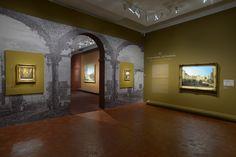 Salle 3 : Ville rêvée, les caprices ©C.Duranti  http://expo-canaletto.com/