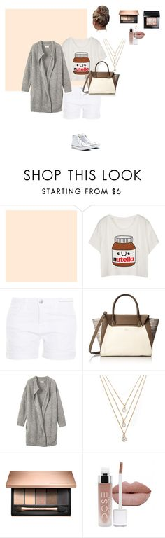 """nutella style"" by polivore1212 ❤ liked on Polyvore featuring Current/Elliott, Converse, Vince Camuto, Toast, Forever 21 and Bobbi Brown Cosmetics"