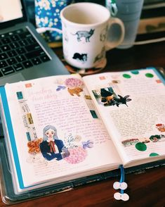 """April Wu on Instagram: """"I looove the Hobonichi when it was fresh and thin in the beginning of the year (however I also do embrace its chunkiness mid year too)…"""" Hobonichi, Tape, Fresh, Fun, Instagram, Band, Hilarious, Ice"""
