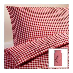 LIAMARIA Quilt cover and 2 pillowcases - 150x200/50x80 cm  - IKEA $12.95