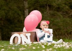 First birthday photography session, baby girl photo idea Birthday Girl Pictures, Baby Girl Pictures, Baby Girl 1st Birthday, First Birthday Photos, One Year Pictures, First Year Photos, First Birthday Photography, Baby Girl Photography, 1st Birthday Photoshoot