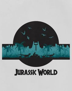 Jurassic World T-shirt Design by LandLCreations