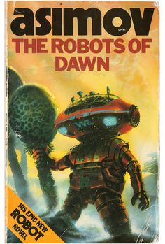 Asimov #books #literature #art #illustration #space #scifi #robot #robots #future #vintage #pulp