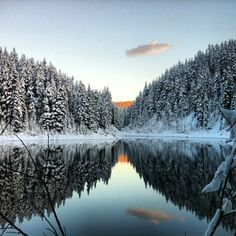 Squamish at dusk (via Arc'teryx athlete Vikki Weldon)