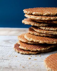 Stroopwafels - traditional Dutch waffle biscuits... Love these over a cup of great coffee!