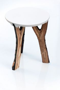 Branch Stool by Christoph Schindler