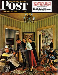 Sat Eve Post Cover ILL.  -  Feb 5 1949