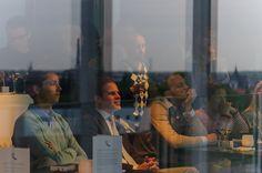 Gents burgemeester Daniel Termont nam de tijd om samen met 40 andere entrepreneurs te brainstormen over Gent.