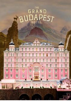 The Grand Budapest Hotel was my first Wes Anderson film. I saw the last showing in the local cinema and came out wishing I'd seen it sooner. To feed my new Wes Anderson craving, I watched all his earlier films, but this was the one that made me fall in love with his work.