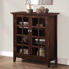 WYNDENHALL Normandy Medium Storage Buffet Media Cabinet | Overstock.com Shopping - The Best Deals on Media/Bookshelves
