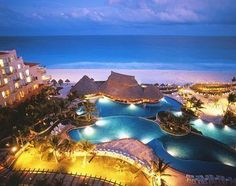 Cancun at night wonderfull