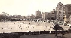 This is Designory Beach from the mid 1930s. You can see the Pike in the background.