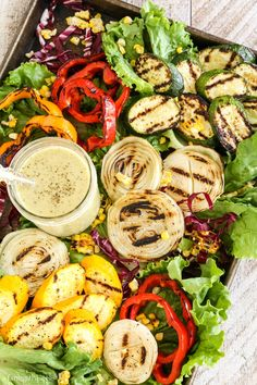 Grilled Veggies Sala