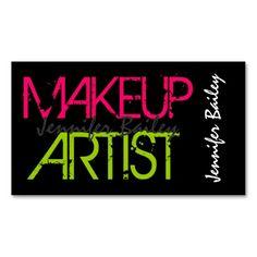 230 best makeup artist business cards images on pinterest in 2018 bold makeup artist business card colourmoves
