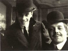 ballet+russe+nijinsky | finethankyouandyou:Vaslav Nijinsky and Serge Diaghilev. 1911.Photo by ...