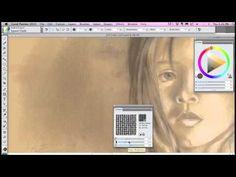 Paper Secrets in Corel Painter - YouTube