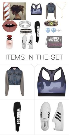 """work out"" by babygirlchelle on Polyvore featuring art"