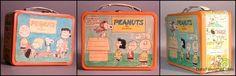 1966 Peanuts  Lunch box