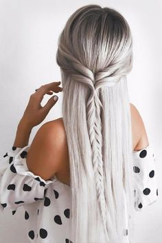 63 Amazing Braid Hairstyles for Party and Holidays ★ Beautiful Crowned Hairstyles for Long Hair Picture 3 ★ See more: http://glaminati.com/christmas-party-braid-hairstyles/ #christmashair #winterhair #braidhairstyle