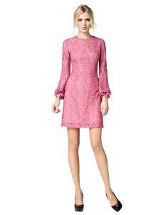 Maya - rosé kant, La Dress