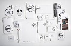 corporate idenity / Hotel Daniel designed by Moodley #branding #identity #stationery