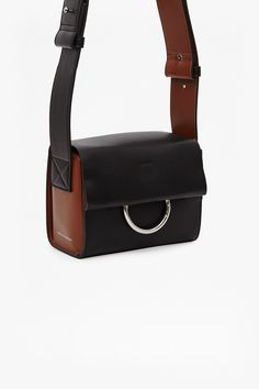 Oversized Buckle Square Faux Leather Bag | Collections | French Connection Usa