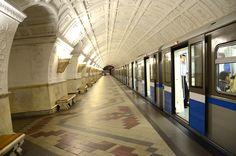 Belorusskaya Moscow metro station Places To See, Places Ive Been, Moscow Metro, Metro Station, Public Transport, Russia, Train, World, Voyage