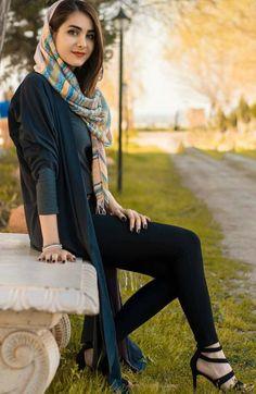 street fashion in iran , women's fashion in iran تیپ اسپرت دخترانه ایران Stylish Photo Pose, Stylish Girls Photos, Niqab, Iran Girls, Arabian Beauty Women, Iranian Beauty, Persian Beauties, Persian Girls, Iranian Women Fashion