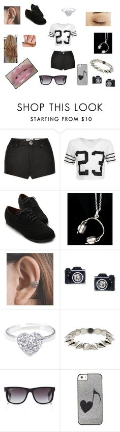 """Sem título #8"" by giovannagoulart ❤ liked on Polyvore featuring Parisian, Ollio, ZM925, Betsey Johnson, Joma, CC SKYE and Ray-Ban"