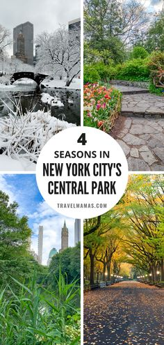 Central Park is a must for any New York City vacation. In every season, NYC's biggest park offers a wide range of attractions sure to please visitors of all ages. Here are the best things to do in Central Park with kids in winter, spring, summer and fall according to a native New Yorker! #centralpark #nyc #newyork #travel Usa Travel Guide, Best Travel Guides, Travel Usa, Travel Tips, New York City Vacation, New York City Travel, New York City Central Park, Where To Go, The Great Outdoors