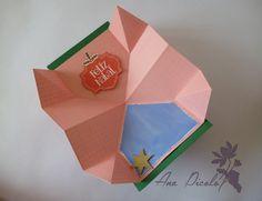 Tutorial Cartão em Origami