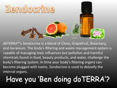 doTerra's Zendocrine is a great option for cleansing the body of toxins. http://www.mydoterra.com/melechternach