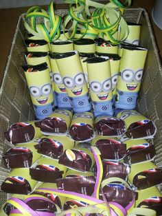 Snickers en mars verpakt als minion