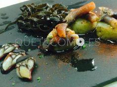 Percebes y algas   Restaurante Pablo Gallego en A Coruña