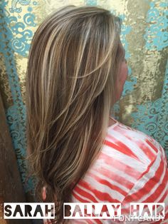 Honey and caramel highlights with a warm chocolate base.  hairbysarahballay   beautyloungenola Capelli Castano 539337b4883b