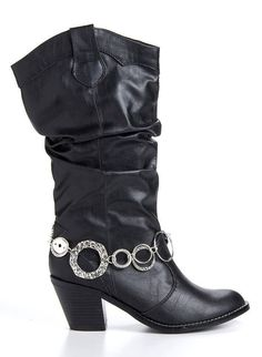 Wear a necklace as boot bling, or as a bracelet, or...  http://carolyn.mialisia.com/