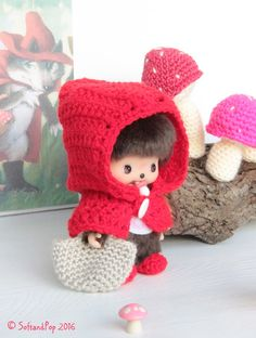 Le Petit Chaperon Rouge by Soft & Pop - www.softandpop.blogspot.com