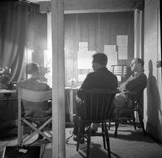 North Walsham ARP Wardens in their office during second world war. #northwalsham #worldwartwo http://www.northwalshamarchive.co.uk