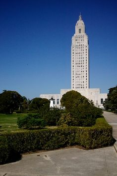 Baton Rouge, LA -- The onlyest state capitol building to be a sky scraper.  Yay for H.P. Long!
