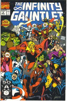 Infinity Gauntlet #3, Jim Starlin