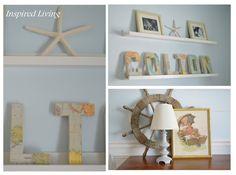 Inspired Living: Nautical Nursery Tour