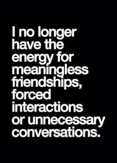 i no longer have …