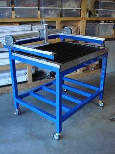CNC plasma cutter table Just In Precision Plasma LLC 2' x 3' DIY Plasma Table