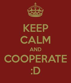 Keep Calm and Cooperate :) #ESF #ERDF