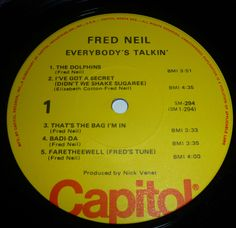 "Fred Neil -S/t -""Everybody's Talkin'""- repress"
